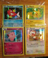 SEALED Pokemon TOYS R US Promo MAGIKARP+PIKACHU+CLEFAIRY+MEOWTH Card 22-26-50/83