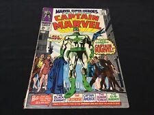 LOW START Marvel Super Heroes 12 (Marvel 1967)1st Captain Marvel FN-