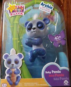 Fingerlings Glitter Baby Panda - Archie - New in Packaging