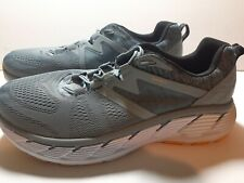 MEN'S HOKA ONE GAVIOTA 2 Us zise 13 2E WORN  once about 4 MILES! RUNNING SHOES!