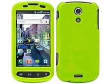 Hard Rubberized Case for Samsung Galaxy S Epic 4G - Neon Green
