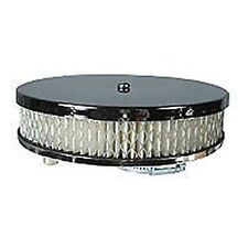 VW Beetle / Camper T2 Pancake Air Filter Chrome Renewable Paper Filter Solex 34
