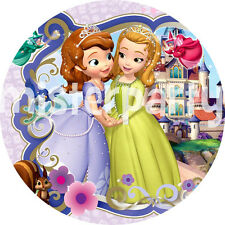 Cialda - Ostia per torte Principessa Sofia! - tonda! Anche A3!