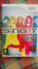 SING IT CAMP ROCK SOLO GIOCO - NO MICROFONI WII   ITA NUOVO SIGILLATO