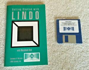 LINDO LINEAR, INTEGER, QUADRATIC PROGRAMMING SOFTWARE FOR DOS & CLASSIC MAC V. 5