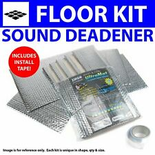 Heat & Sound Deadener Dodge Charger 1968 - 1970 Floor Kit + Seam Tape 30861Cm2