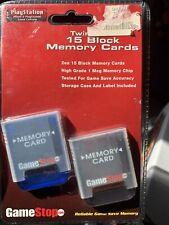 playstation 1 memory card GameStop