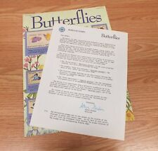Authentic Butterflies World Of Stamps Collectible Series Sheet W/ COA **READ**