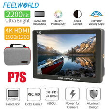 FEELWORLD P7S 7 inch 4K Ultra Bright 2200nit Camera Field Video Monitor for DSLR