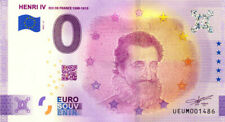 63 CLERMONT-FERRAND Henri IV, 2021, Billet Euro Souvenir