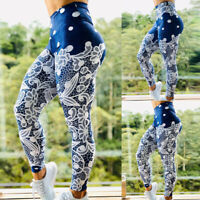 Damen Stretch Hose Printed Slim Skinny Leggings Leggins Treggings Jeggings