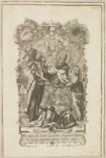 SAN DIONISO INCISIONE GIOVANNI BATTISTA GOZ ANDREAS PFEIFFEL 1750