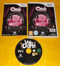 OSE' CHE FAI CI PROVI? Nintendo Wii Osè Versione Italiana 1ª Edizione ○ USATO AR