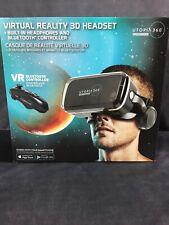 ReTrak Utopia 360 VR Headset with Built in Headphones - Black