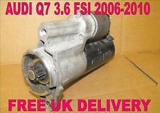 AUDI Q7(4L)3.6 FSI 2006 2007 2008 2009 2010 funzionanti MOTORINO AVVIAMENTO