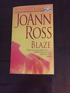 Blaze by JoAnn Ross 2005 PB 1st Ed 1st Printing Like New