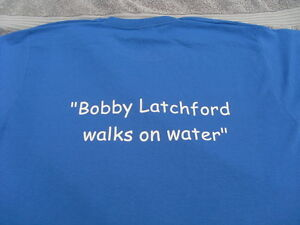 Everton Fans T-shirts Bob Latchford 2 Slogans Sizes Inc 4XL 5XL Christmas Gift