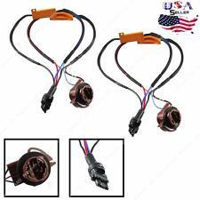 (2) 3157 4157 Load Resistor For Switchback LED Turn Signal Light Hyper Flash Fix