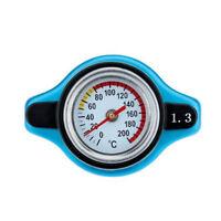 1Pc Thermostatic Gauge Radiator Caps 1.3 Bar Big Head Uprated Blue Useful Tool