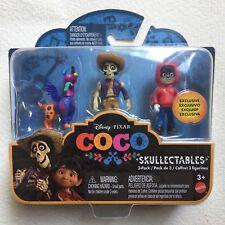 Disney Pixar Coco Skullectables 3 Pack New Exclusive FMT53