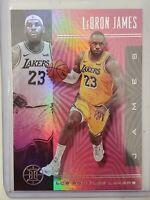 2019-20 Panini Illusions Lebron James Pink Parallel Rare SSP LA Lakers