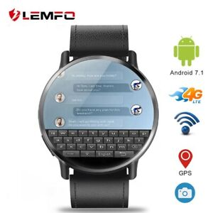 LEMFO 4G smart watch Android 7.1 With 8MP GPS Camera 2.03 Inch Strap for men