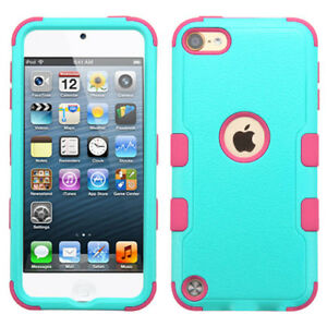 For Apple New iPod Touch 7th Gen ShockProof Hybrid Rubber Protective Case Cover