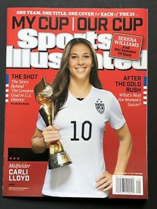 Carli Lloyd Sports Illustrated July 2015 World Cup Women's Soccer USWNT NO LABEL
