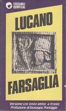 LUCANO MARCO ANNEO FARSAGLIA 1984 LIBRO TASCABILI BOMPIANI