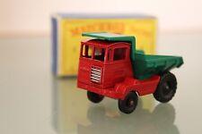 LESNEY MATCHBOX MUIR HILL SITE DUMPER Réf 2 LAING Boite ROUES plastique noir