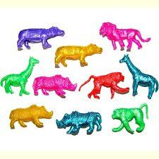 30 Stretchy Jungle Animal Toys - Fun Children's Pocket Money Toys