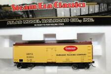 ATLAS HO SCALE 36' WOOD REFRIGERATOR CAR - DUBUQUE PACKING #63053 (6111-1)