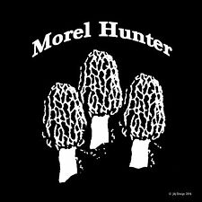 Morel Mushroom Hunter Foraging Nature HikeDecal Sticker DIE CUT Window Computer