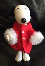 Vintage Peanuts Snoopy Christmas Theme Figurine