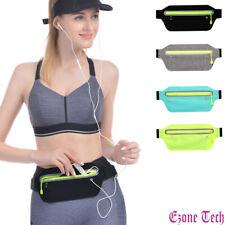Sports Ultra Slim Fanny Pack Waist Bum Bag Belt Pouch Zip Bag Waterproof Running