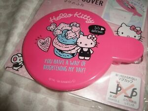 Sanrio HELLO KITTY MUG Cup COVER tea coffee Pink New Sealed US SELLER from Japan