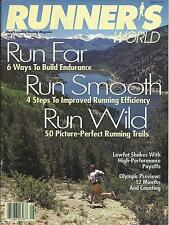 VINTAGE RUNNERS WORLD - RUNNER'S WORLD MAGAZINE US EDITION AUGUST 1995