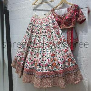 Designer Lengha Choli Wedding Wear Fashionable Bridal Weaving Lehenga Choli KF