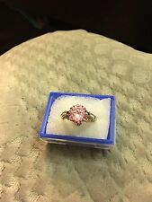 Lovely 14k GF Zircon  Ring, size 18