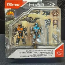 Mega  Halo Brute Weapons Customizer pack toy building blocks DXR57