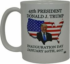 Donald J. Trump Coffee Mug The 45th President On The United States Funny Gift...