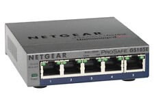 NETGEAR Gs105pe ProSafe Plus 5 Port Gigabit Managed Switch 2 Poe Ports
