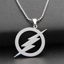 New Fashion Men Boy Unisex Pendant Necklace Titanium steel Flash Jewelry Gift