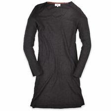 Noa Noa Damen Kleid Dress Casual Gr.M (DE 38) Strick Freizeit Grau 91262