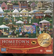Hometown Collection Jigsaw Puzzle The Art Of Heronim 1000 Pcs Limited Edition
