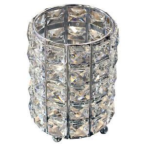 Hestia Diamante Crystal Large Votive Tea Light Candle Holder Decoration