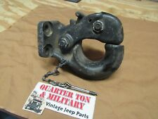 Jeep Willys M38 M38A1 M151 9 ton Pintle Hitch NOS