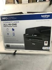 Brother Compact Monochrome Laser All-in-one Multifunction Printer MFCL2710DW
