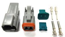 2-Pin Deutsch DT Waterproof Electrical Connector - Light Bars - Audio
