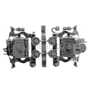BSP03 CHARIOT NAIN BATTLE SKULL PASS SCENERY WARHAMMER FANTASY BATTLE AoS BITZ